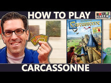 Load and play video in Gallery viewer, Video on how to play Carcassonne board game