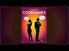 Load and play video in Gallery viewer, Video of Codenames rules overview