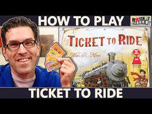 Load and play video in Gallery viewer, Ticket to Ride board game video how to play