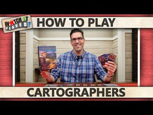 Load and play video in Gallery viewer, Cartographers A Roll Player Tale board game how to play video