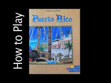 Load and play video in Gallery viewer, Puerto Rico board game how to play video (this is for the original game)