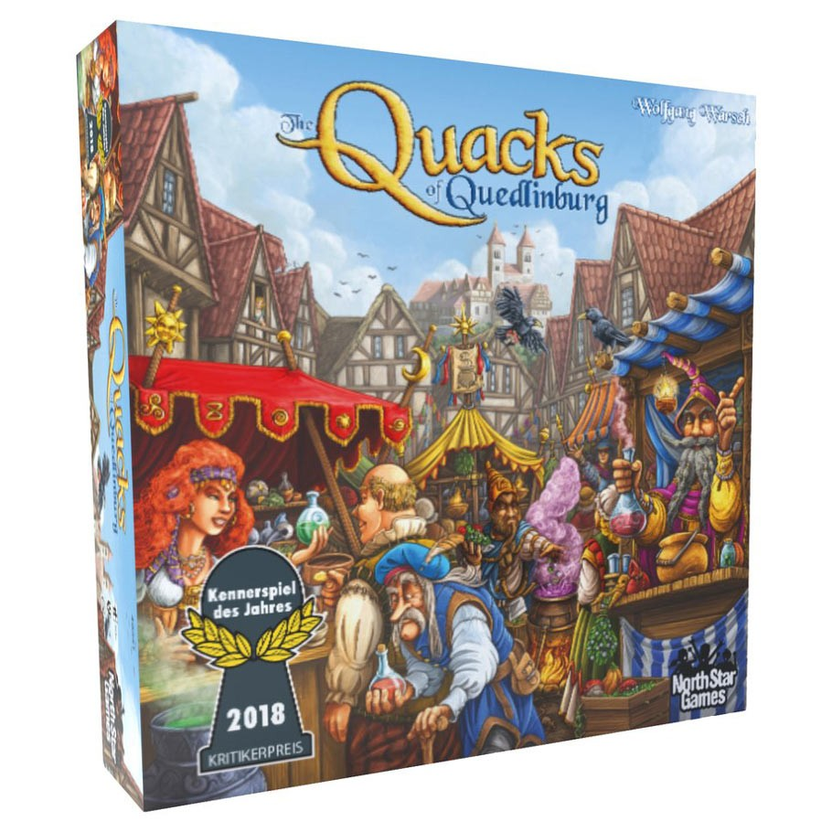 The Quacks of Quedlinburg board game box cover