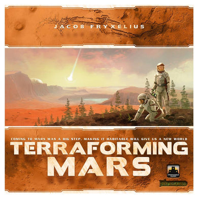 Terraforming Mars board game box cover