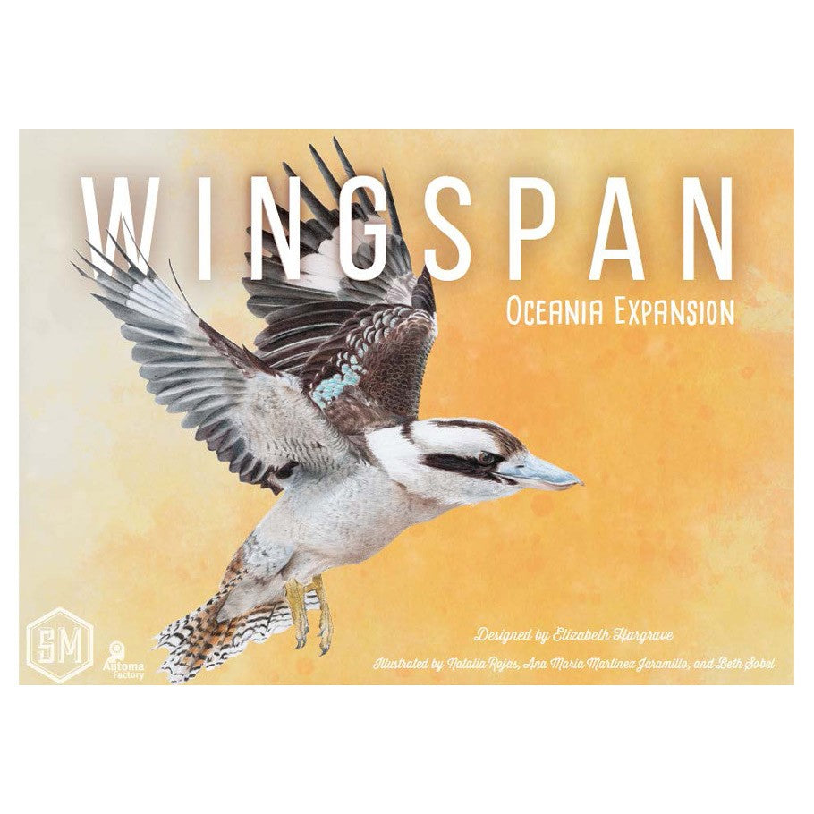 Wingspan Board Game Oceania Expansion Box Cover