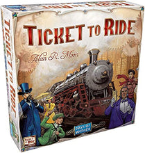 Load image into Gallery viewer, Ticket to Ride board game box cover