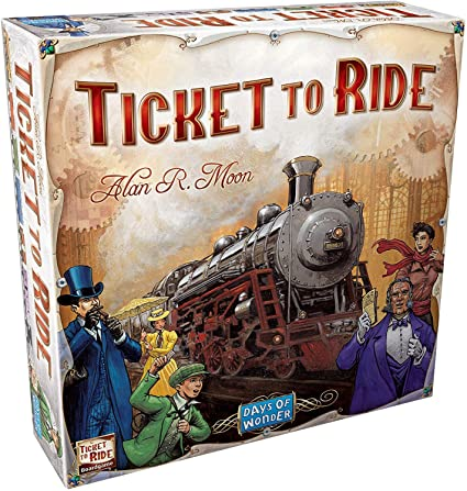 Ticket to Ride board game box cover