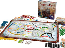 Load image into Gallery viewer, Ticket to Ride board game active play