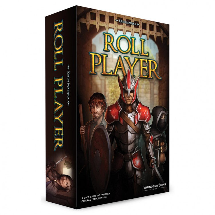 Roll Player Board Game box cover