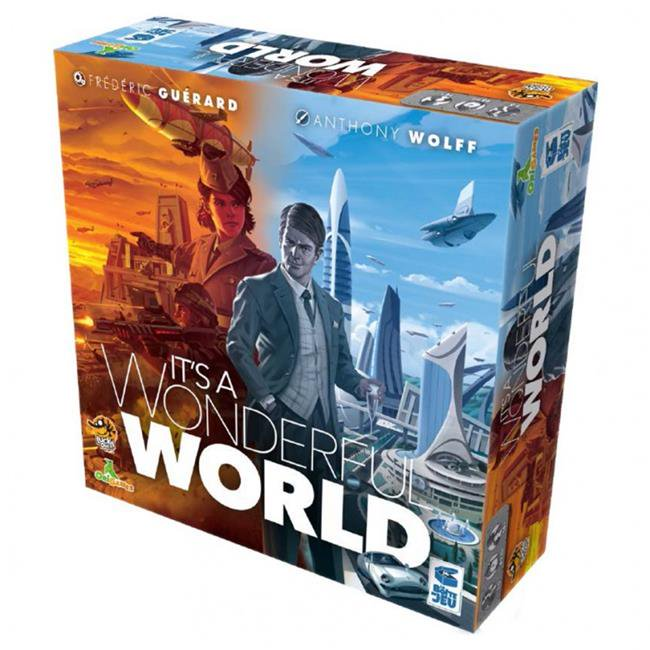 It's a Wonderful World board game box cover