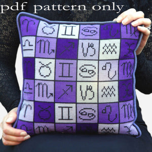 Cross Stitch PDF Pattern - Astrology