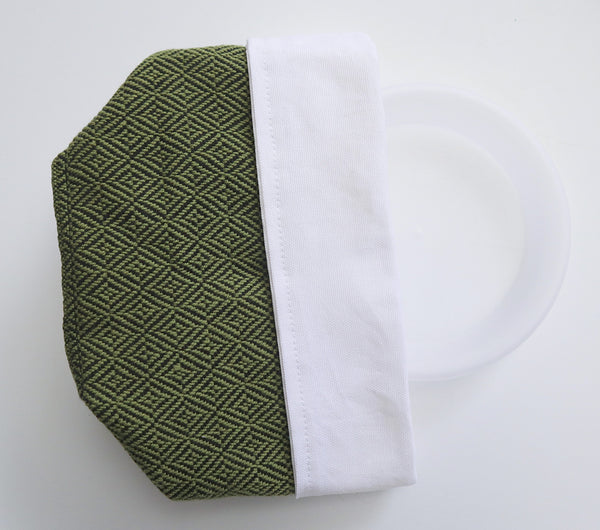 Fabric Plant Holder - Olive Green
