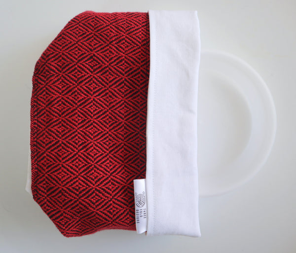 Fabric Plant Holder - Red