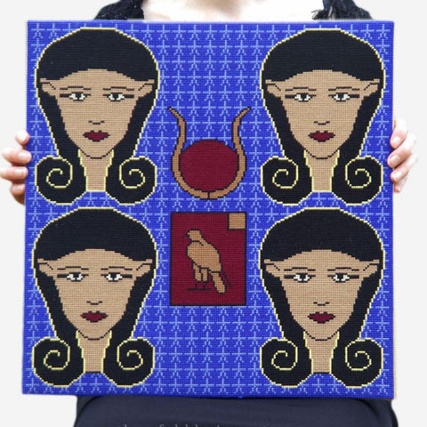 Cross Stitch Kit - Hathor - Threefold Designs