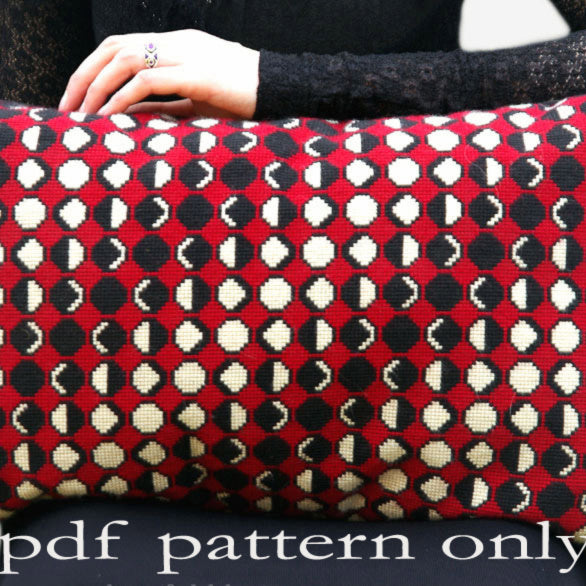 Cross Stitch PDF Pattern - Moon Phases