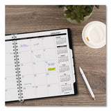 Refillable Multi-year Monthly Planner, 11 X 9, White, 2021-2025