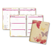 Watercolors Weekly-monthly Planner, 11 X 8.5, Watercolors, 2021-2022
