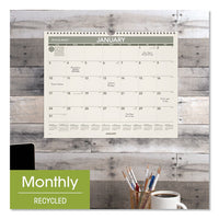 Recycled Wall Calendar, 15 X 12, 2021