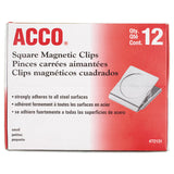 "Magnetic Clips, 0.88"", Silver"