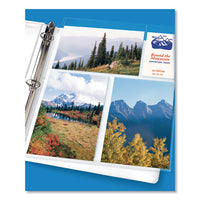 Photo Storage Pages For Six 4 X 6 Mixed Format Photos, 3-hole Punched, 10-pack