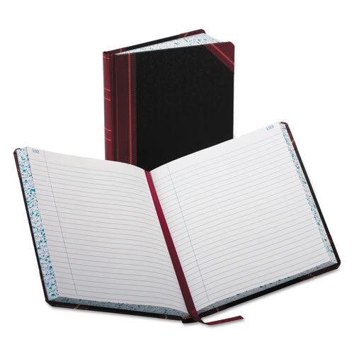 Record-account Book, Record Rule, Black-red, 300 Pages, 9 5-8 X 7 5-8