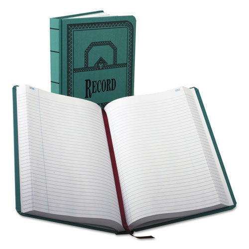 Record-account Book, Record Rule, Blue Cover, 500 Pages, 12 1-8 X 7 5-8