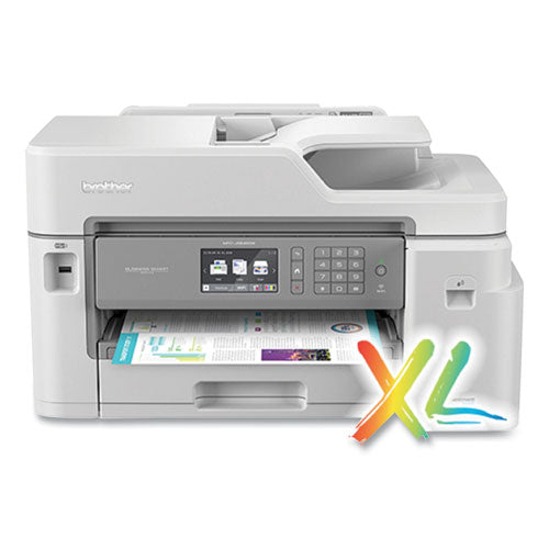 Mfc-j5845dw Xl Color Inkjet All-in-one Printer, Copy-fax-print-scan