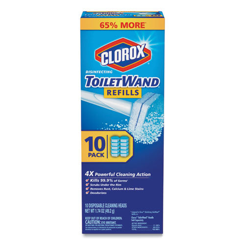 Disinfecting Toiletwand Refill Heads, 10-pack, 6 Packs-carton