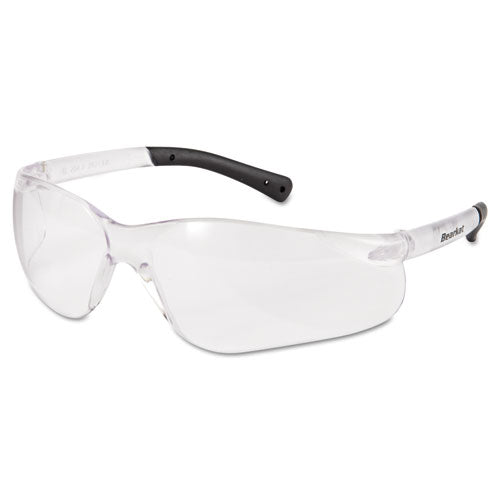 Bearkat Safety Glasses, Frost Frame, Clear Lens