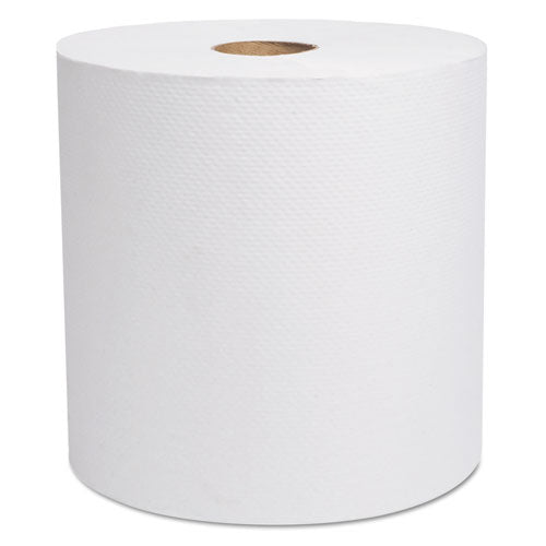 "Select Hardwound Roll Towels, White, 7 7-8"" X 800 Ft, 6-carton"
