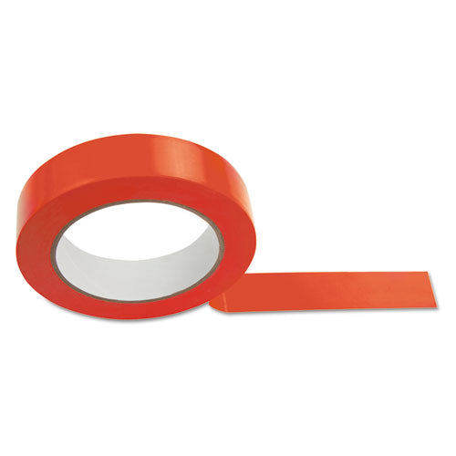 "Floor Tape, 1"" X 36 Yds, Red"