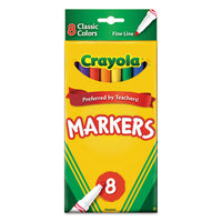 Non-washable Marker, Broad Bullet Tip, Assorted Colors, 256-box