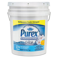 Dry Detergent, Fresh Spring Waters, Powder, 15.6 Lb. Pail G Waters