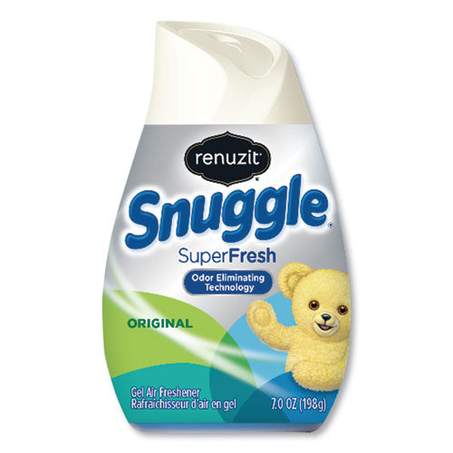Adjustables Air Freshener, Snuggle Superfresh Scent, 7 Oz Solid, 12-carton