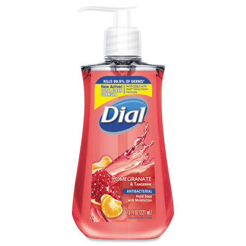 Antibacterial Liquid Soap, 7.5 Oz Pump Bottle, Pomegranate And Tangerine