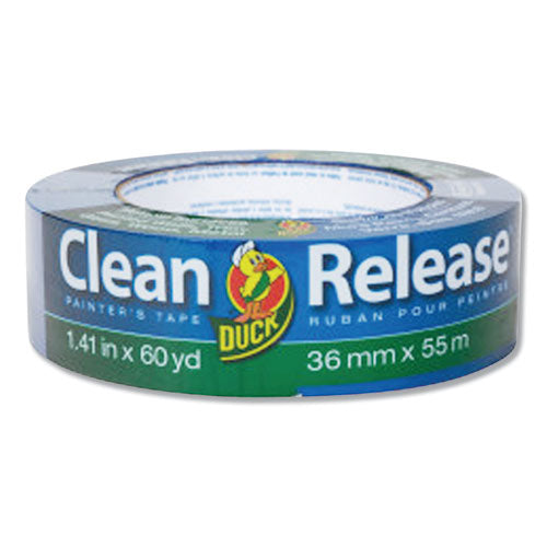 "Clean Release Painter's Tape, 3"" Core, 1.41"" X 60 Yds, Blue, 16-pack"