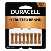 Hearing Aid Battery, #312, 8-pack