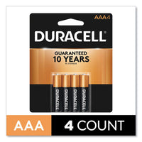 Coppertop Alkaline Aaa Batteries, 4-pack