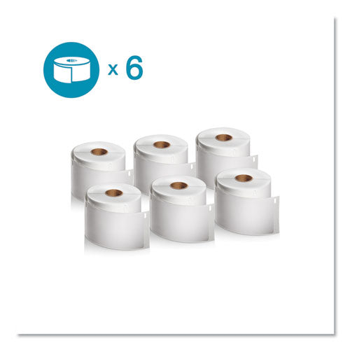 "Lw Shipping Labels, 2.31"" X 4"", White, 300-roll, 6 Rolls-pack"