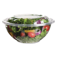 Renewable And Compostable Salad Bowls With Lids - 32 Oz, 50-pack, 3 Packs-carton