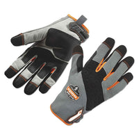 Proflex 820 High Abrasion Handling Gloves, Gray, Small, 1 Pair
