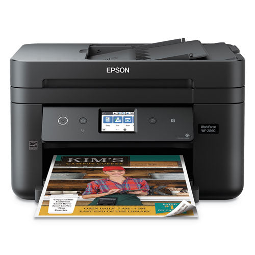 Workforce Wf-2860 Wireless All-in-one Printer, Copy-fax-print-scan