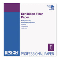 Exhibition Fiber Paper, 13 Mil, 13 X 19, White, 25-pack