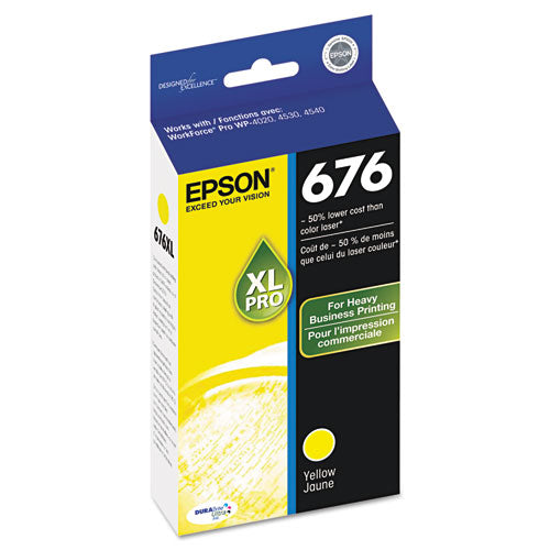 T676xl420s High-yield Ink, Yellow