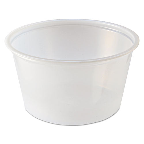 Portion Cups, 2 Oz, Clear, 2500-carton