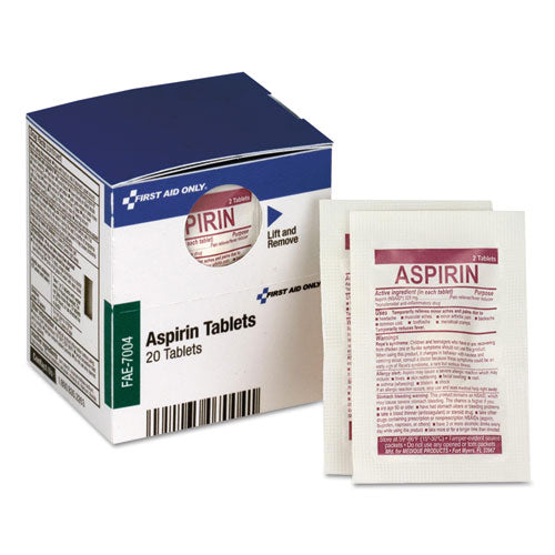 Smartcompliance Aspirin Refill, 2-packet, 10 Packet-box
