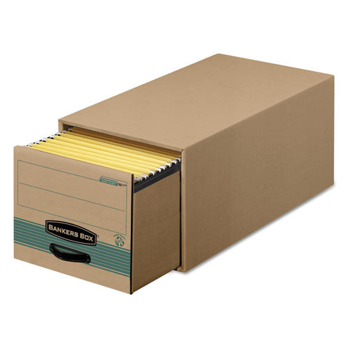 "Stor-drawer Steel Plus Extra Space-savings Storage Drawers, Letter Files, 14"" X 25.5"" X 11.5"", Kraft-green, 6-carton"
