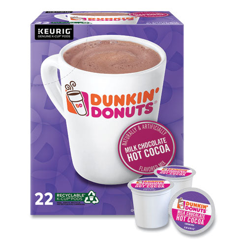 Milk Chocolate Hot Cocoa K-cup Pods, 22-box