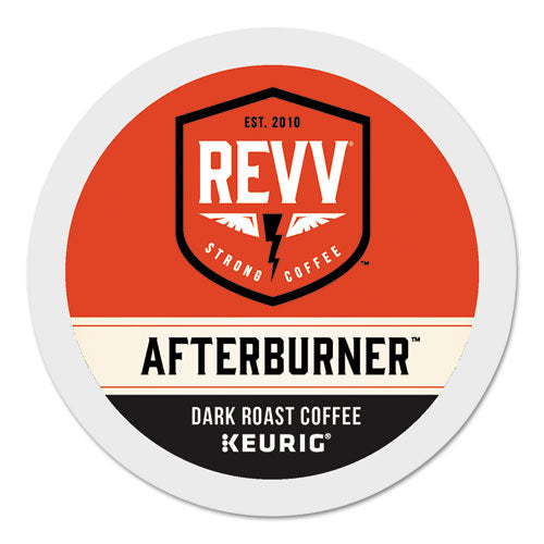 Afterburner K-cup, Dark Roast, K-cup, 24-box