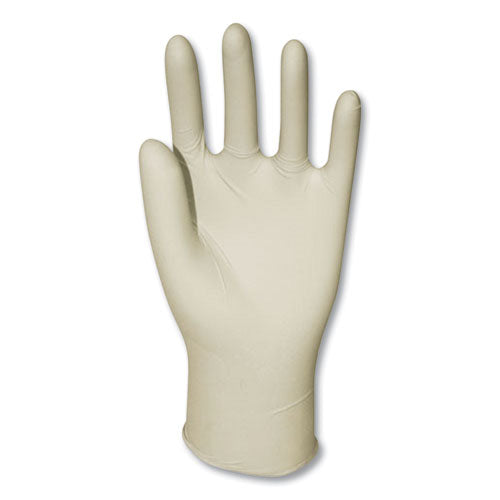 Powder-free Synthetic Vinyl Gloves, Large, Cream, 1,000-carton