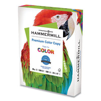 Premium Color Copy Print Paper, 100 Bright, 28lb, 8.5 X 11, Photo White, 500-ream